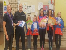 Hastings  guides benefit from police award