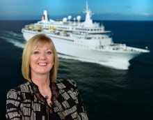 New Area Sales Executive for Scotland and Northern Ireland, Allison Graham, joins Fred. Olsen Cruise Lines