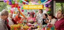Filmen The Grown Ups visas  den 4 april i sju olika städer  - Ett  Doc Lounge Live-evenemang