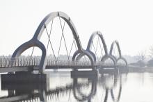 Pressinbjudan - nu invigs Europas längsta gång- och cykelbro