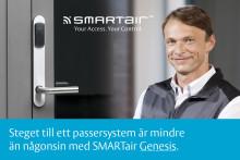 Steget till ett passersystem är mindre än någonsin med SMARTair™ Genesis från ASSA