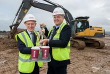 Costa Managing Director kicks off construction of Basildon roastery