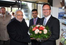 Indian flair at the Maritim Grand Hotel: the Prime Minister as a guest