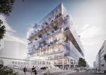 Hissar och rulltrappor från KONE tar plats i Platinan i Göteborg