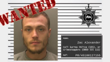 Appeal to find wanted man Zac Alexander from Elmbridge