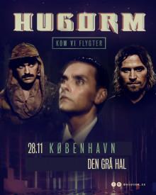 """HUGORM annoncerer """"KOM VI FLYGTER"""" Tour til efteråret."""