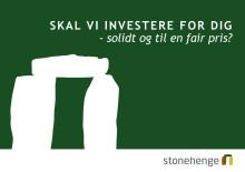 Brochure om Stonehenge Fondsmæglerselskab A/S