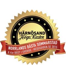 Härnösand - en av Sveriges bästa sommarstäder