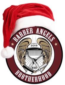 FROHE WEIHNACHTEN und HAPPY NEW YEAR 2020 wünschen die Barber Angels