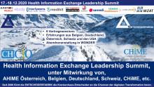 """Heute - zweiter Tag """"HIE Leadership Summit"""" im Zeichen von KHZG, DVPMG, etc."""