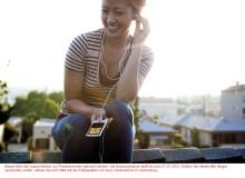 Musik liegt in der Luft: Sony präsentiert vier neue WALKMAN MP3-Player für Freizeit und Sport