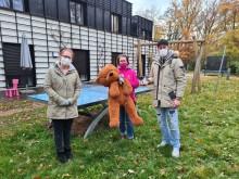 Grund zur Freude, nicht zum Gruseln: Halloween-Feiernde sammeln 329 Euro an Spenden