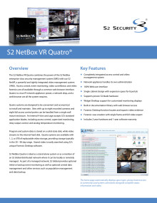 Passersystem från Gate Security - NetBox VR Quatro
