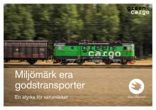 Miljömärk era godstransporter