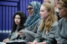 School pupils test their crime stories on University experts