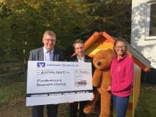 1.000 Euro für Bärenherz: Wiegmann Gruppe spendet anlässlich ihres 40. Firmenjubiläums