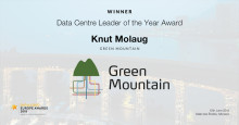 Green Mountain Wins prestigious Award at Datacloud Europe 2018