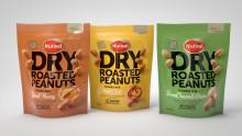 Maustetut ja kuivapaahdetut maapähkinät yhteisiin naposteluhetkiin