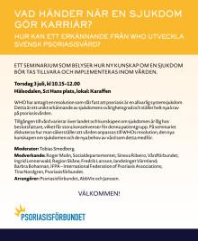 AbbVie Almedalen 2014 seminarium den 3 juli kl 10.15