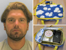 Unusual find in lunch box results in a four year prison sentence