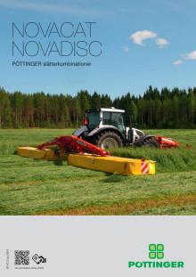 Pöttinger Novacat & Novadisc slåtterkombinationer 2014