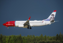 Stark passagerartillväxt för Norwegian i augusti