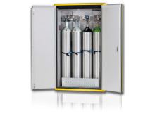 Säker förvaring av Gasflaskor från DENIOS.