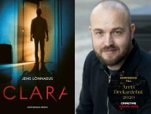Årets deckardebut!? Malmöförfattaren Jens Lönnaeus nominerad till Årets deckardebut av Crimetime Award
