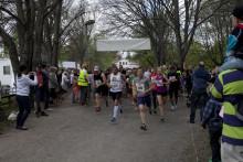 Strömmingloppet lockade 279 motionärer till ett vårsoligt Vaxholm