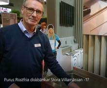 Vi berättar om våra rostfria diskbänkar på Stora Villamässan i Malmö