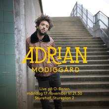 Adrian Modiggård live på O'baren