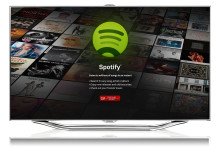 Miljoner låtar via ny app: Spotify flyttar in i Samsungs smart-tv