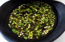 Korshags recepttips: Kallrökt lax med asiatisk soyadipp