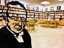 Invigning av Tranströmerrummet på Stadsbiblioteket i Västerås