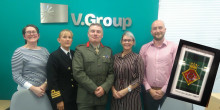 UK Royal Navy thanks V.Group for supporting reservists
