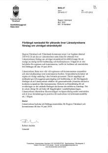 Förlängd remisstid för yttrande över Länsstyrelsens förslag om utvidgat strandskydd