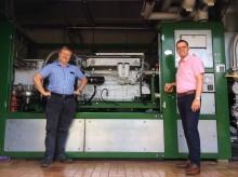 Energiewende in der industriellen Praxis:  Energieservice Westfalen Weser ersetzt BHKW-Motor bei Sykon GmbH