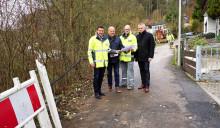 Bayernwerk erneuert Stromnetz  in Breitenbrunn