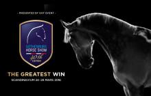 Helt nytt program för Gothenburg Horse Show 2016 laddat med tävlingar i världsklass!