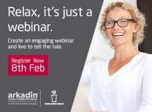 """Relax, it's just a webinar"" - Overcoming stage fright ahead of webinars"