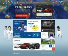Lag din egen fanpark til fotball-VM