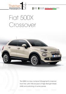 Thatcham 1st : Fiat 500x Crossover