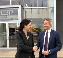 CMP og DFDS etablerer landstrøm i København