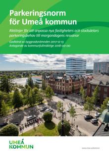 Förslag till parkeringsnorm Umeå kommun