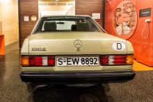 Versteigerung von Manfred Rommels Mercedes-Benz 190E