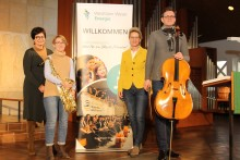 """""""Jeder Ton ein Fest!"""" - Westfalen Weser Energie-Gruppe  präsentiert familiäres Musikerlebnis in Minden"""