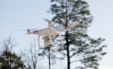 New section at Elmia Wood: The time is right for using drones in forestry