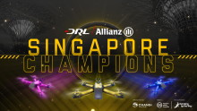 Changi Airport Group partners The Drone Racing League (DRL) to bring professional drone racing to Asia