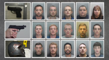 Operation Blush: Crime gang sentenced to 119 years in prison for firearms and drug offences