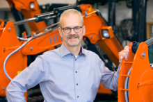 Delvators nye VD Thomas Pehrsson möter branschen på Maskinmässan